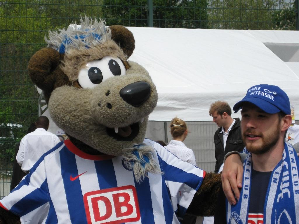 Herthinho und Christoph